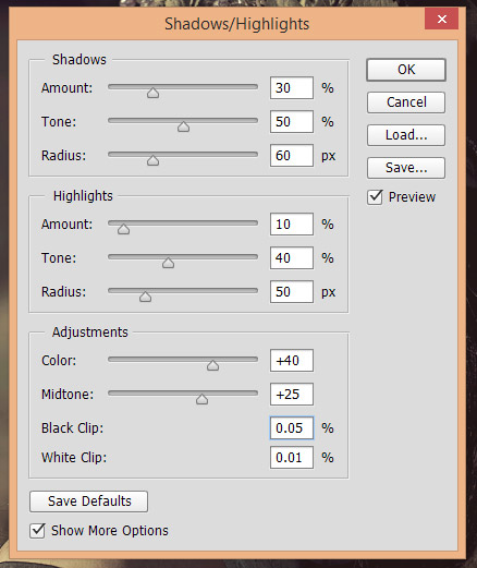 Recovering Shadows and Highlights in Photoshop