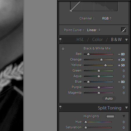 Beautiful Black & White Conversions in Lightroom