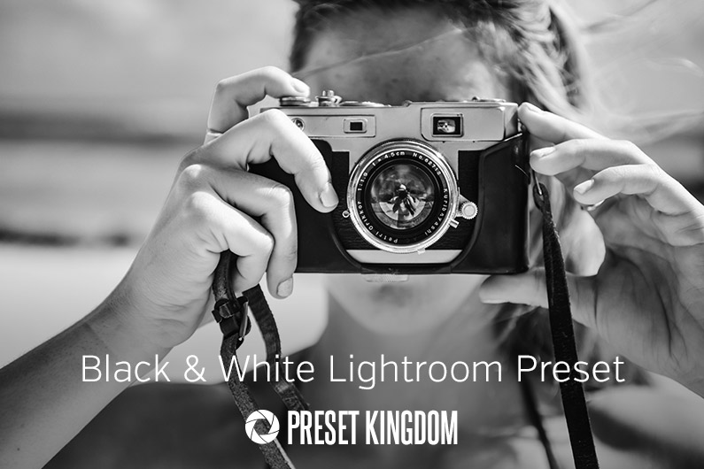Free Black and White Lightroom Preset
